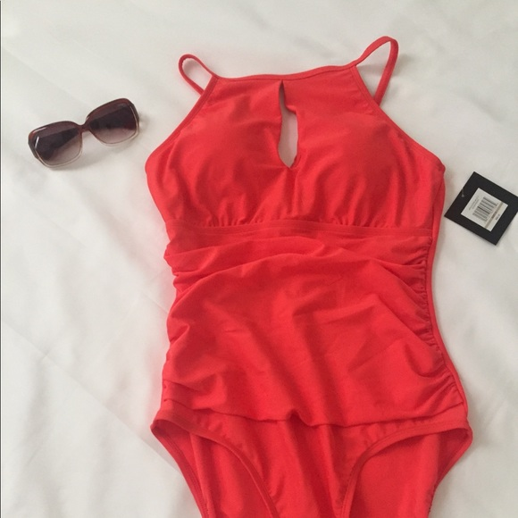 9fb5f9895ab4c Ellen Tracy Swim | Onepiece Bathing Suit Size 12 | Poshmark